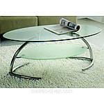 Стол журнальный Томас хром стекло A1201