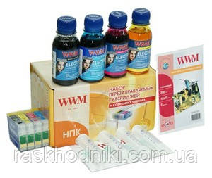 Новинка! Поступили в продажу перезаправляемые картриджи WWM для Epson Expression Home XP-313/XP-413