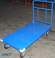 Візок вантажний на платформі