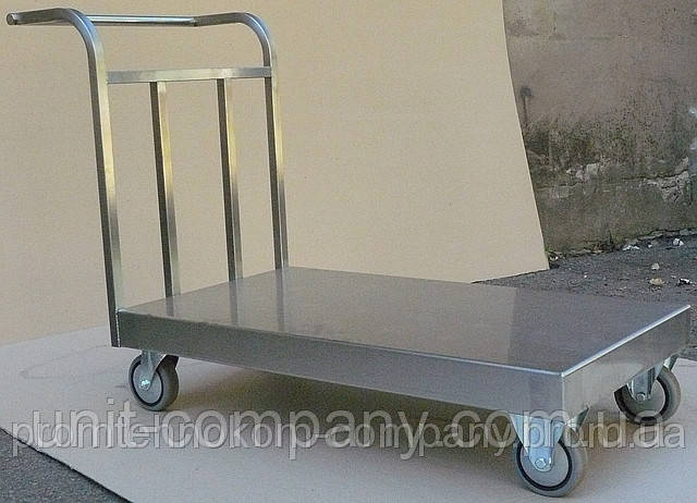 Візок вантажний (нерж. сталь)