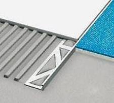 Нержавеющий профиль L для керамической плитки Лигма