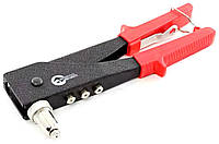 Пистолет заклепочный ручной, диаметр заклепки 3.2; 4; 4.8мм (с поворотом на 90°)