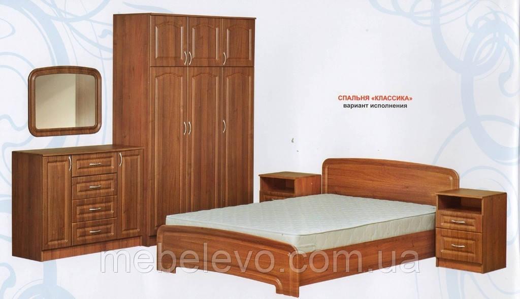 Спальня комплект 3Д Классика  МДФ 160х200 Абсолют