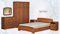 Абсолют Классика спальня комплект 3Д  МДФ 160х200