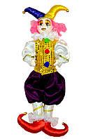 Клоун в золотой жилетке, 55 см