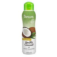 Tropiclean  Gentle Coconut Shampoo - гипоаллергенный шампунь котят и щенков 355 мл (202474)