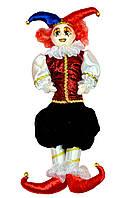 Клоун в красной жилетке, 55 см