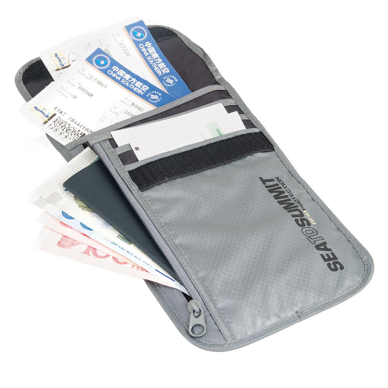 Кошилек Sea to Summit Ultra-Sil Neck wallet RFID