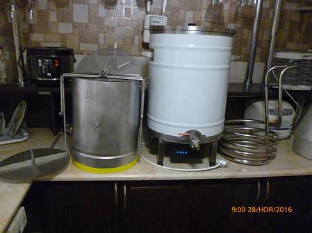 Пивоварня клон braumeister на 50-60 литров готового сусла., фото 2