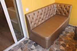 М'які лавочки та диванчики для передпокою і кухні балкона