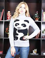 """Светр жіночий зимовий """"Панда"""", фото 1"""