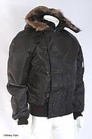 Куртка летная N2B США (Аляска), black, фото 1