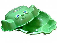 Песочница Краб двойная (зеленый) (72003)