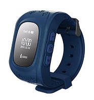 Детские часы с GPS-трекером Smart Baby Watch Q50 Blue