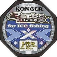 Леска Konger CarboMaxx for ice fishing, 50m
