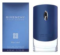Парфюмированная вода Givenchy Pour Homme Blue Label