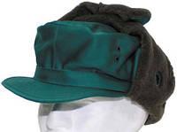 Австрийская зимняя шапка  зеленая