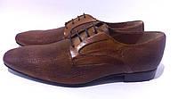 Мужские туфли рыжего цета Bruno Errigo