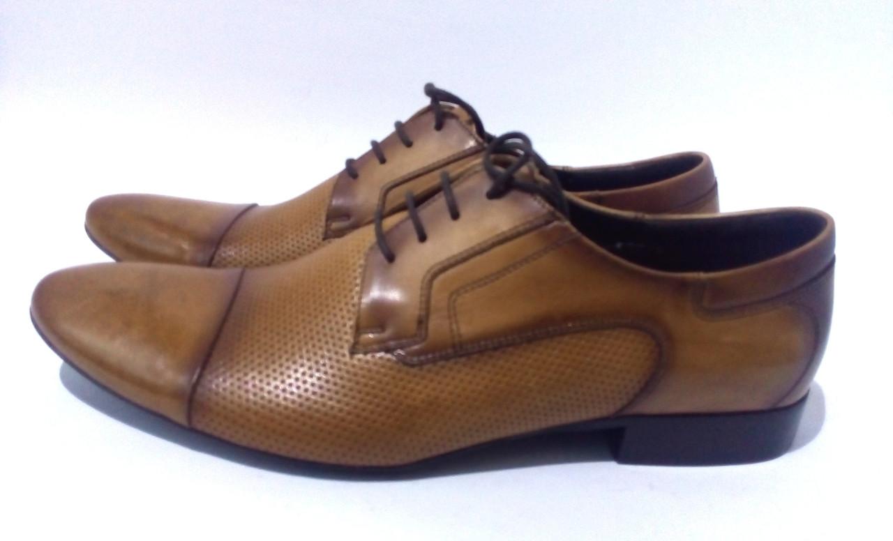 6789d14f8 Коричневые мужские туфли BADURA - Магазин семейных покупок
