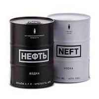 Водка Нефть 1л Neft