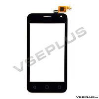 Тачскрин (сенсор) Alcatel 4024D One Touch Pixi First, черный