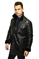 Мужская дубленка Oscar Fur  329 Черный