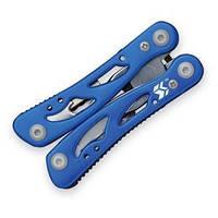 Мультитул Swiss+Tech Pocket Multi-Tool 12 in 1 blue