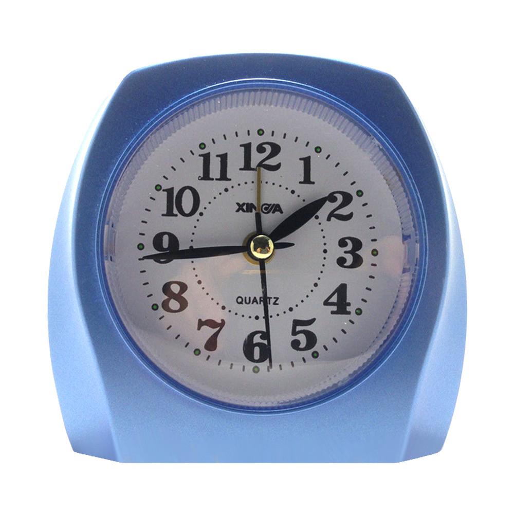 Будильник №789 часы настольные с подсветкой (красный)