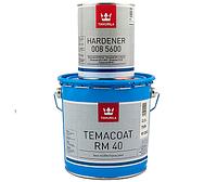Эмаль эпоксидная TIKKURILA TEMACOAT RM40 химстойкая, TVH-белый, 2.2+0.6л