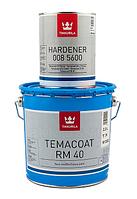 Эмаль эпоксидная TIKKURILA TEMACOAT RM40 химстойкая, TСH-транспарентный, 2.2+0.6л