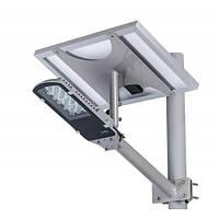 Светодиодный уличный светильник 24Вт на солнечной батарее