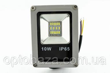 Светодиодный прожектор 10 Вт SMD 6000K Slim