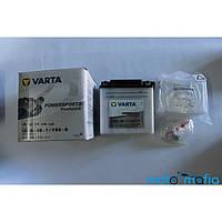 """Аккумулятор 12V9А сухо заряженый c электролитом в комплекте """"VARTA"""""""