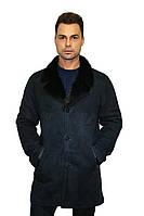 Дубленка мужская Oscar Fur  333 Темно-  синий