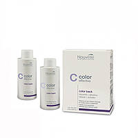 Nouvelle Color Back Двухкомпонентное средство для удаления краски с волос, 2х100 мл.