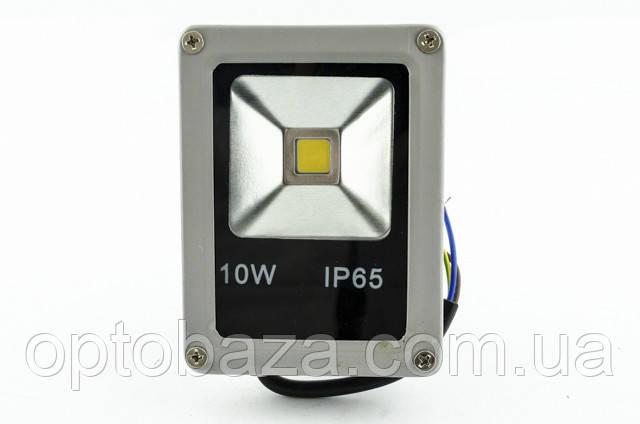 LED прожектор 10 Вт, Slim, матрица, 3000К