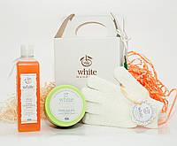 """Набор SPA-набор для бани и сауны Медовая» от ТМ """" White Mandarin"""""""