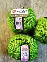 YarnArt Christmas - 43 зеленый