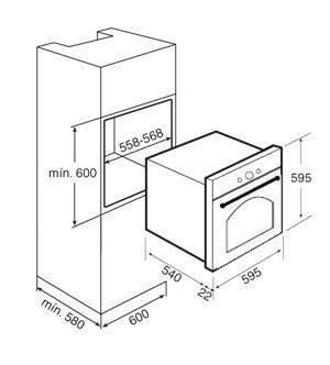 Духовой шкаф Teka HR 750 (Rustica) черный, ручки латунь 41564013, фото 2