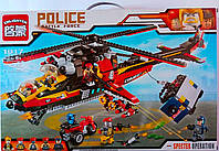 Лего Вертолет 654 дет В коробке 1917 Brick Китай