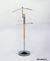 Вешалка костюмная CH-4043-N (хром/натурель)
