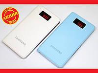 Портативное зарядное Samsung Power Bank 25000 mAh LCD 3xUSB, фото 1