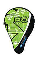 Чехол для ракетки Donic Classic Schildkrot (818506) Green с карманом для мячей
