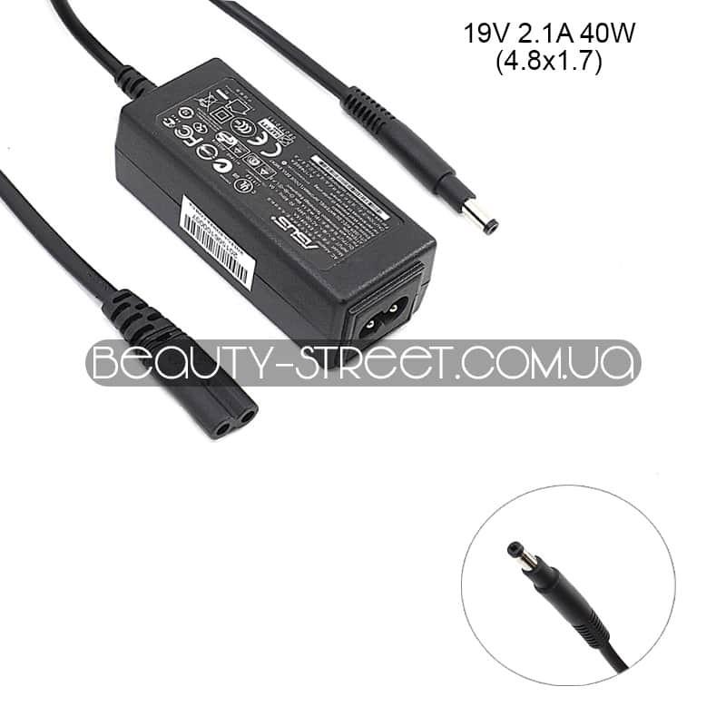 Блок питания для ноутбука Asus 19V 2.1A 40W 4.8x1.7 (B)