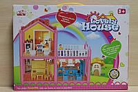 Набор дом Lovely house с мебелью для девочки в коробке