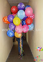 """Гелиевые шары с надписью """"С днём рождения"""" Николаев, фото 1"""