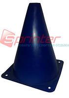 Фишка для разметки дистанции в форме конуса. 18 см.* 11,5 см. Синяя.