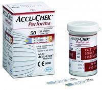 Тест-полоски Accu-Chek Performa 50