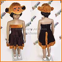 Карнавальный комплект Обезьяна - платье с маской