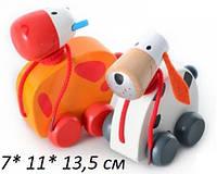 Деревянная игрушка Каталка MD 0537